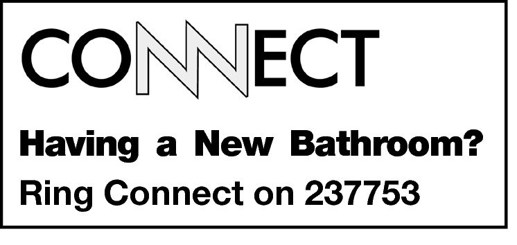 Having a New Bathroom? Ring Connect on 237753