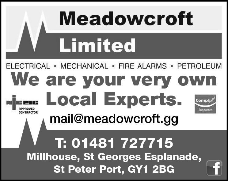 We are your very own Local Experts. mail@meadowcroft.gg  T: 01481 727715  Millhouse, St Georges Esplanade, St Peter Port, GY1 2BG