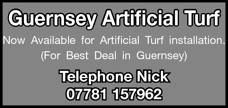 Guernsey Artificial Turf Now Available for Artificial Turf installation. (For Best Deal in Guernsey)  Telephone Nick 07781 157962