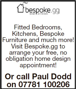 Fitted Bedrooms, Kitchens, Bespoke Furniture and much more! Visit Bespoke.gg to arrange your free, no obligation home design appointment! Or call Paul Dodd on 07781 100206