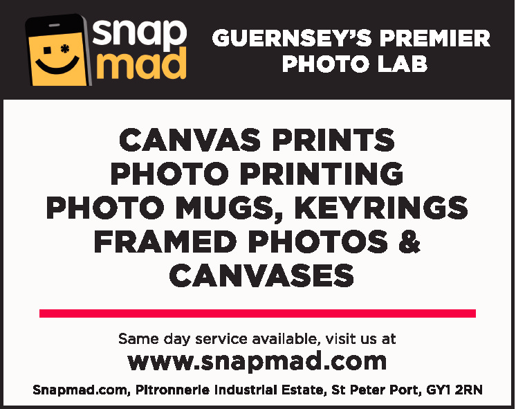 GUERNSEY'S PREMIER PHOTO LAB  CANVAS PRINTS PHOTO PRINTING PHOTO MUGS, KEYRINGS FRAMED PHOTOS & CANVASES Same day service available, visit us at  www.snapmad.com  Snapmad.com, Pitronnerie Industrial Estate, St Peter Port, GY1 2RN