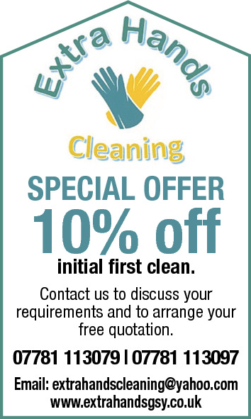 SPECIAL OFFER  10% off initial first clean.  Contact us to discuss your requirements and to arrange your free quotation.  07781 113079
